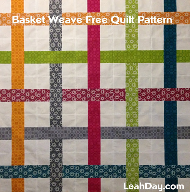 Easy Basket Weave Quilt Pattern Free Motion Quilting Project Enchanting Basket Weave Quilt Pattern