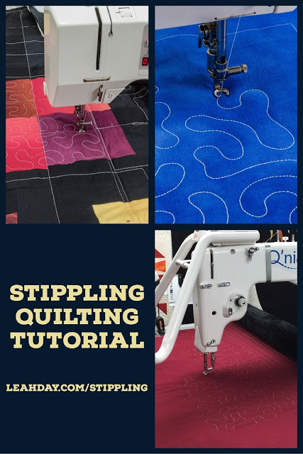 Ultimate Stippling Quilting Tutorial Free Motion Quilting