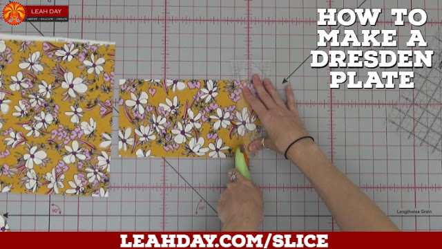 How To Piece A Dresden Plate Quilt Block With The Slice Ruler Free