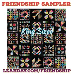 Friendship sampler quilt king size