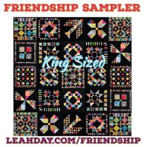 Friendship sampler quilt king size