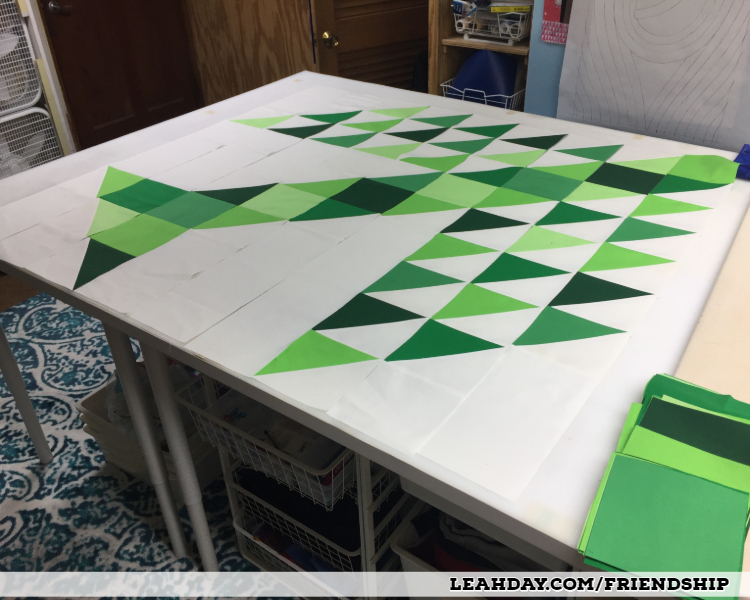How to Piece a Tree of Life Quilt Block - Friendship Quilt Along