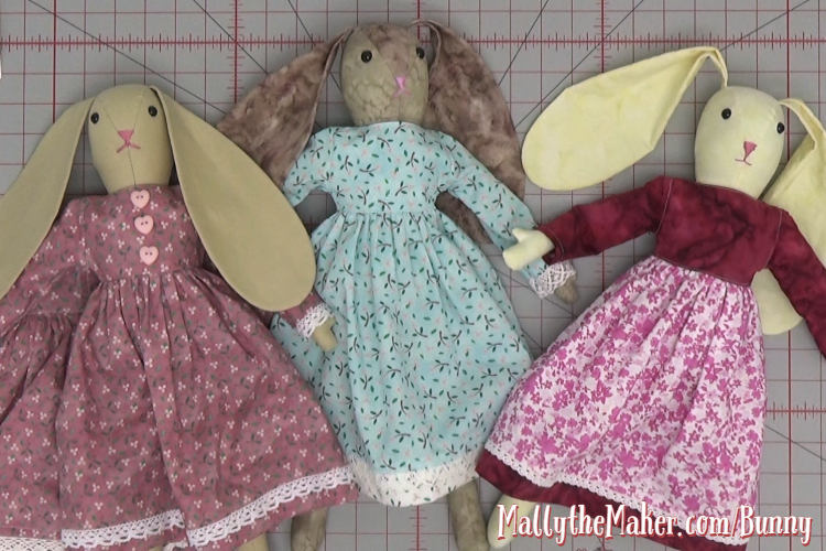 How to Sew a doll dress tutorial
