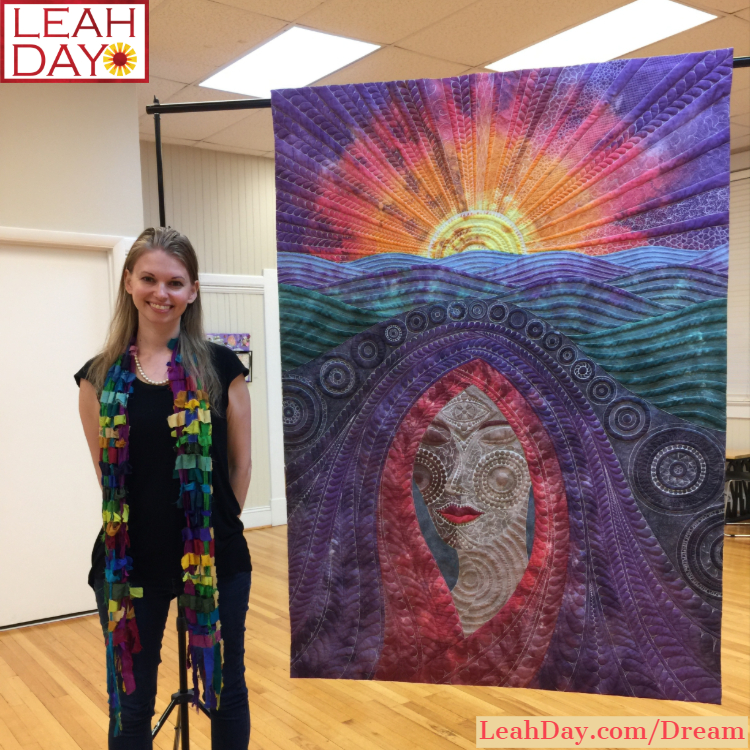 I Am Woman Exhibit | Dream Goddess Quilt