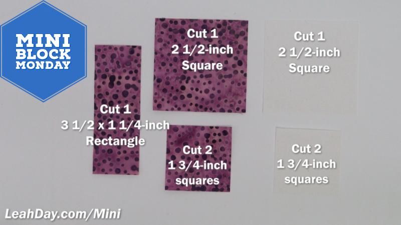 Simple Heart Patchwork Quilt Block